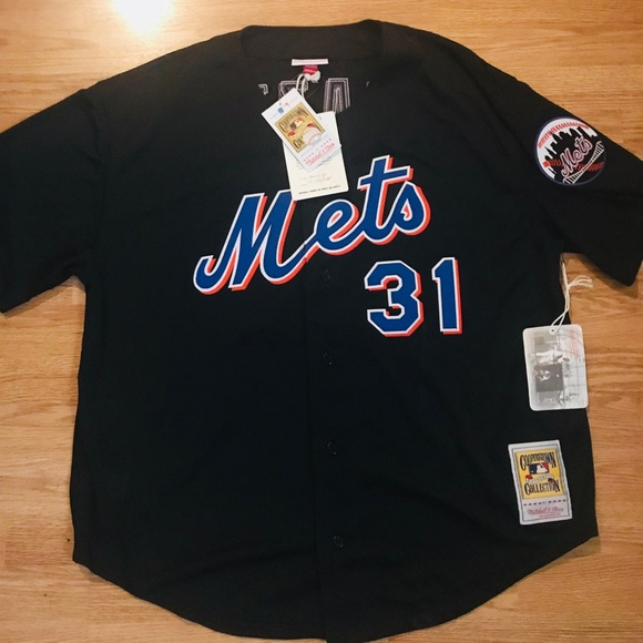 half off caae2 45d2d Mike Piazza 2000 Retro Authentic Mets Jersey XL NWT